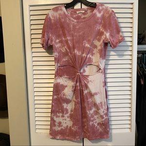 LA Hearts twist front t-shirt dress!